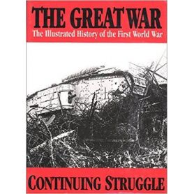 The Great War: Continuing Struggle 5 (The illustrated history of the first world war) - ¡ENVÍO GRATUITO!