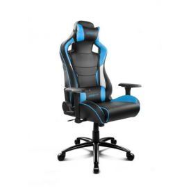 Drift DR400BL - Silla gaming, color negro y azul