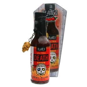 Blairs Ultra Death Sauce in Coffin